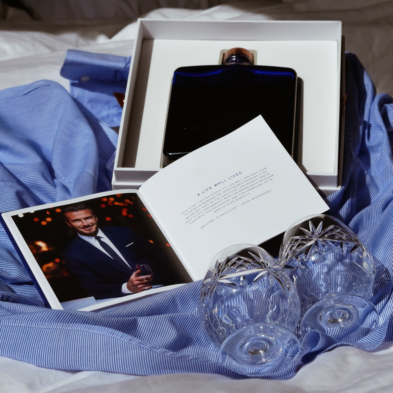 PRESENTS FOR MEN, DAVID BECKHAM HAIGH WHISKY, HAIG WHISKY, DAVID BECKAHM, ROTARY, ROTARY, FATHERS DAY GIFT GUIDE