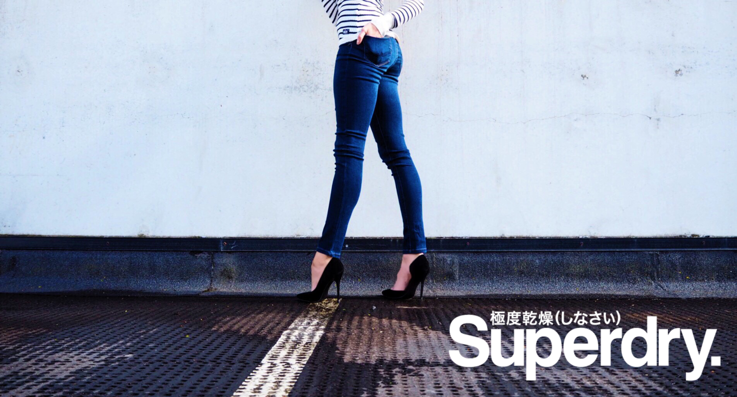 SUPERDRY, DENIM, JEANS, LAURA BLAIR, LONDON FASHION GIRL