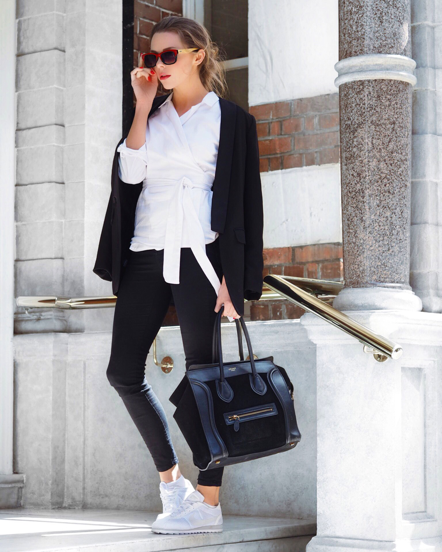CITY DRESSING OFFICE WEAR WHAT TO WEAR TO WORK LAURA BLAIR LONDON FASHION GIRL