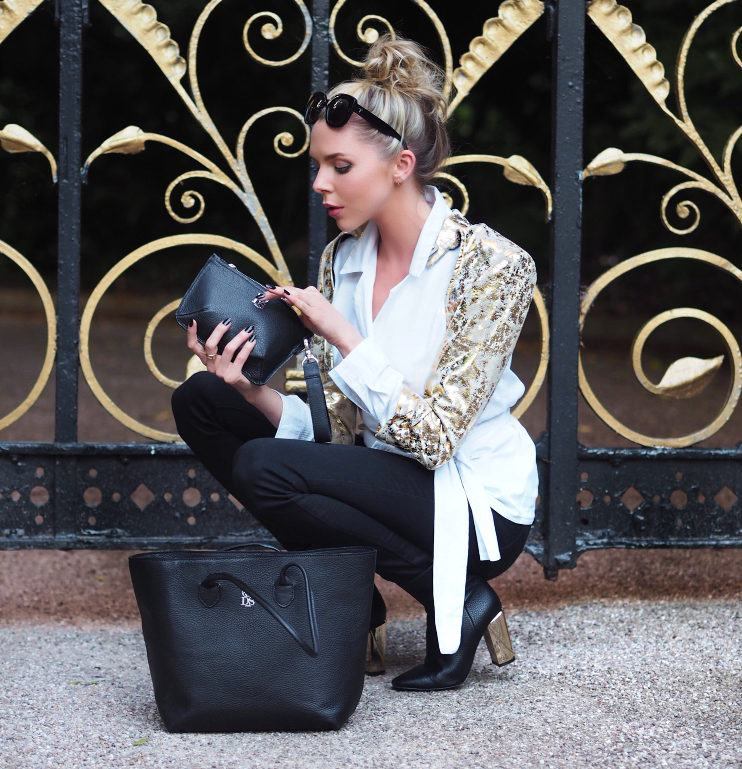 gold darkstar, london fashion week, blogger, style, laura blair, london fashion girl