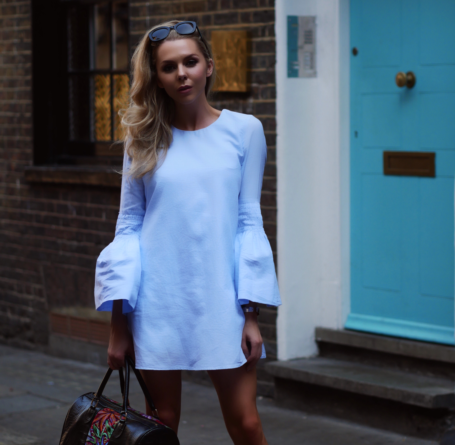 LONDON FASHION WEEK, STREET STYLE, FASHION, LONDON FASHION GIRL, LAURA BLAIR, RUFFLES