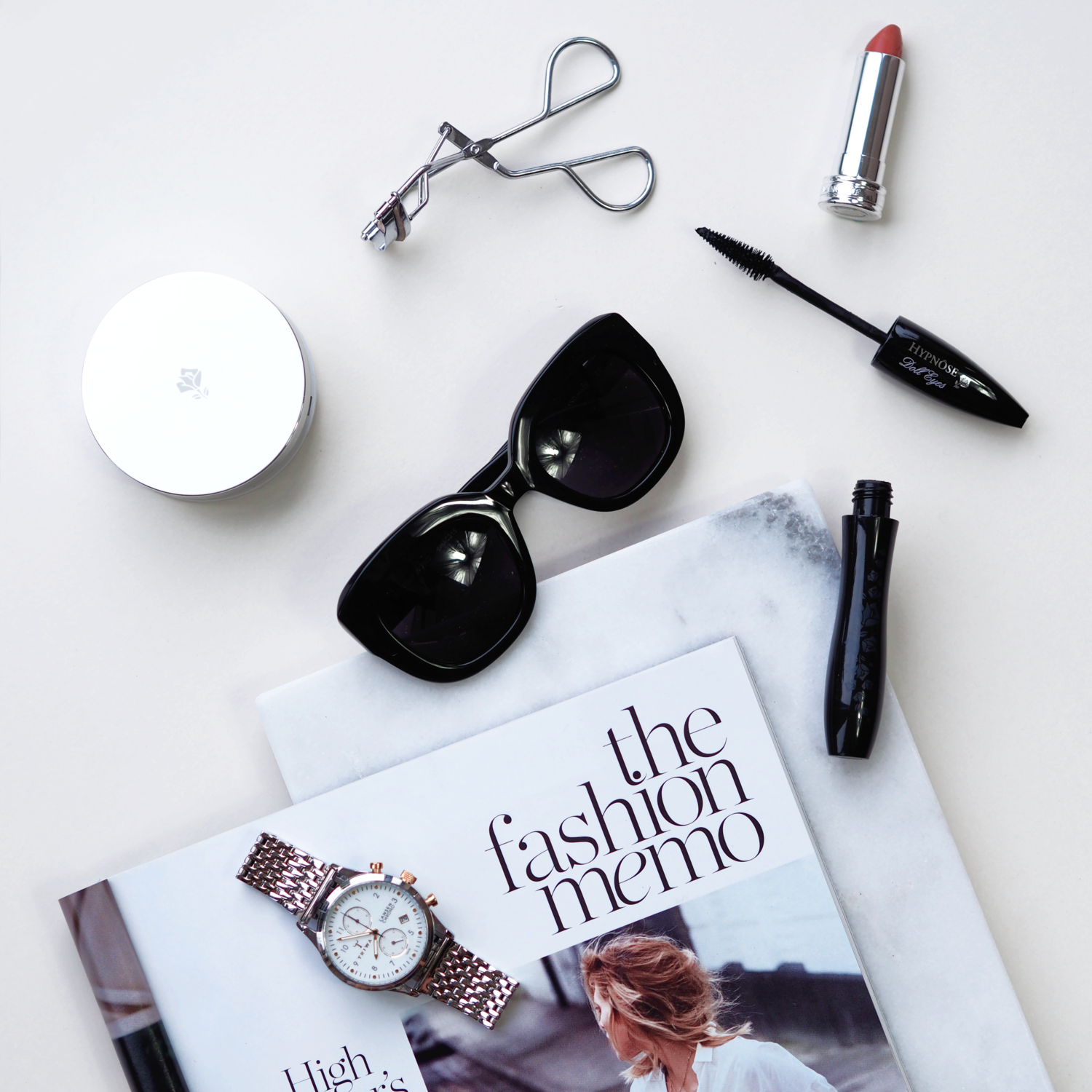 WHATS IN MY HANDBAG, HANDBAG ESSENTIALS, BEAUTY, TRIWA WATCH, LANCOME, LAURA BLAIR, LONDON FASHION GIRL