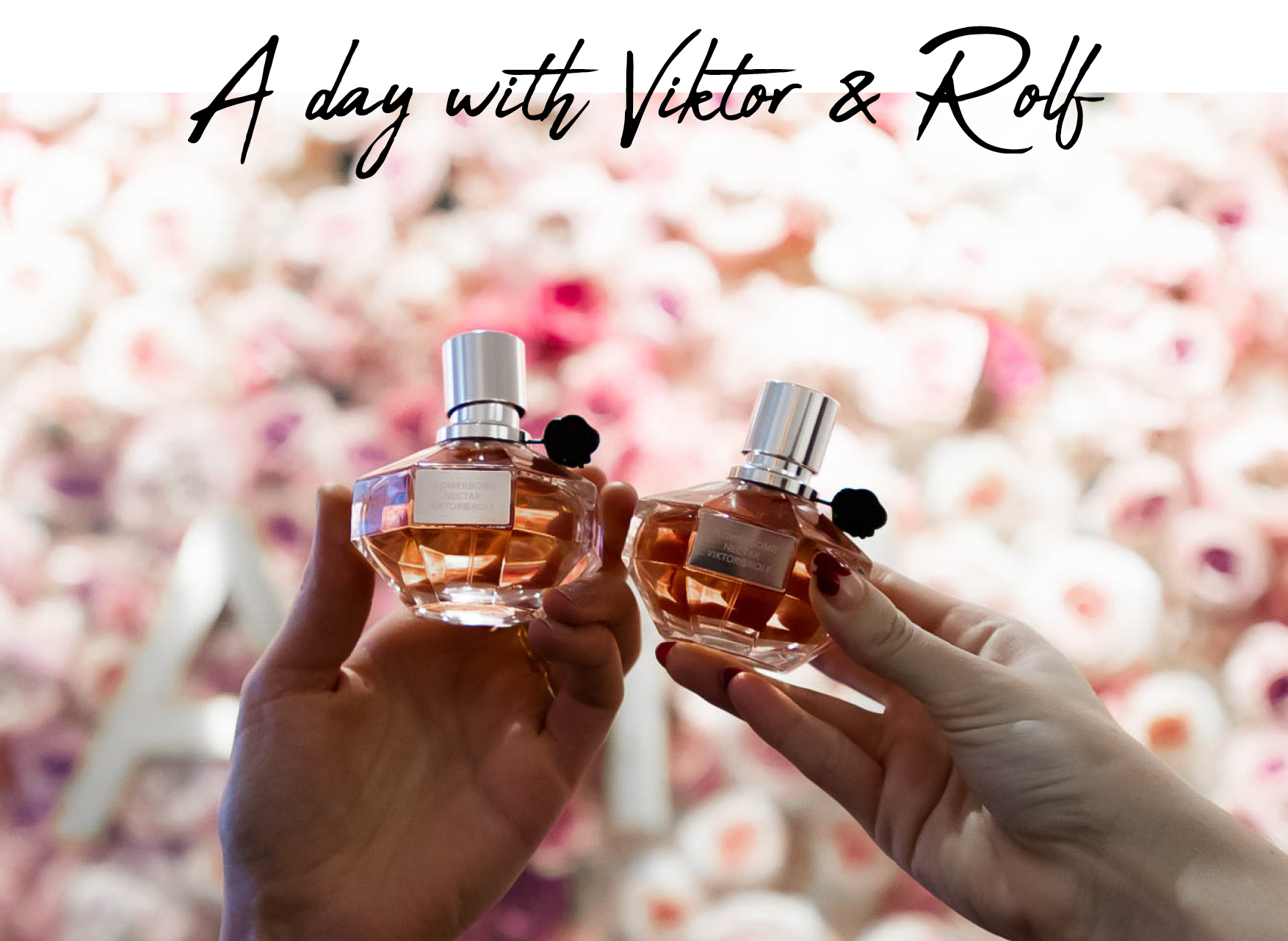viktor and rolf, flower bomb nectar, browns brides, wedding dress