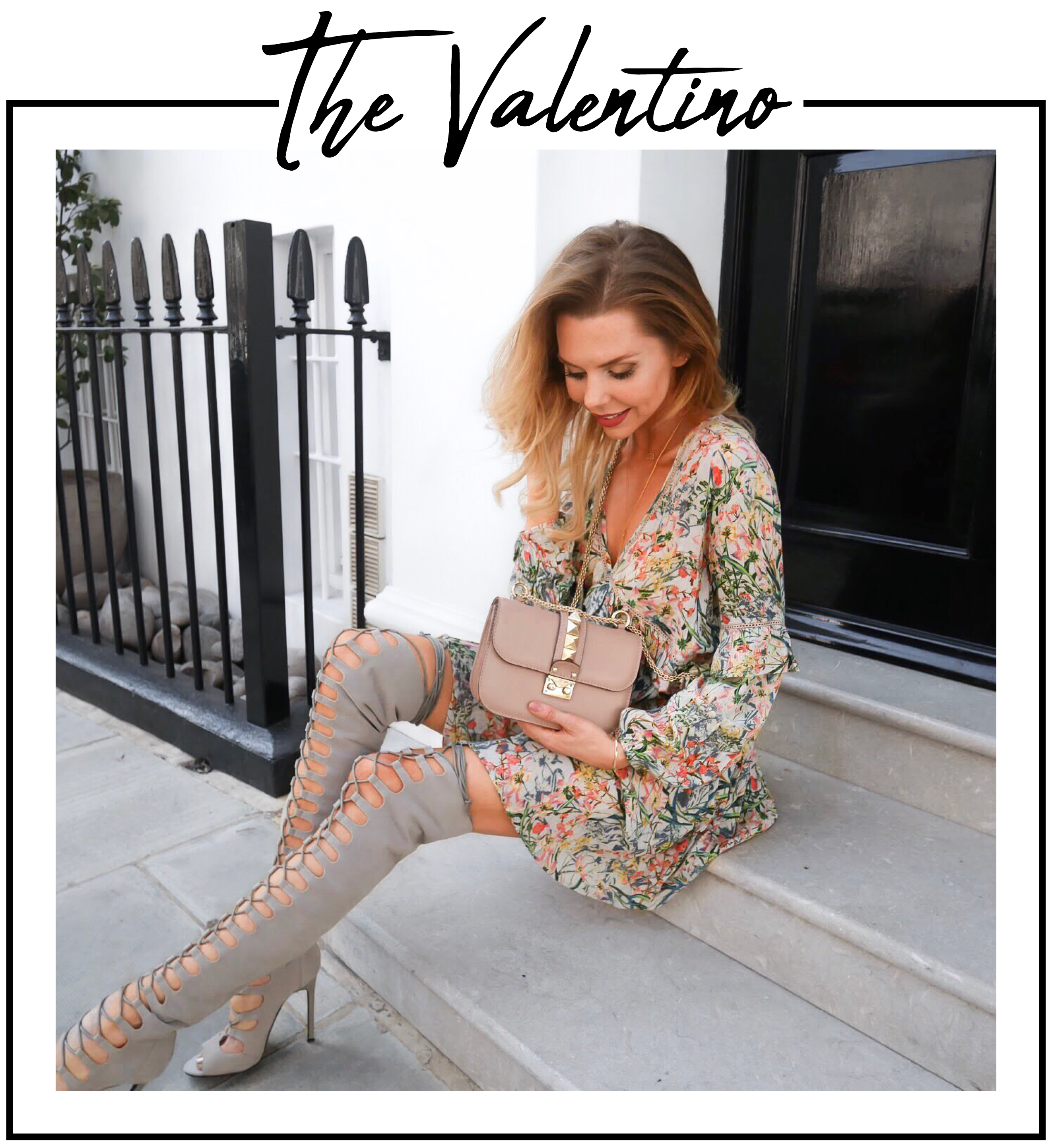 Valentino, Valentino Rockstud, Valentino bag, asos, what to wear in summer, asos dresses, haul, fashion style, london fashion blogger, london fashion girl, laura blair