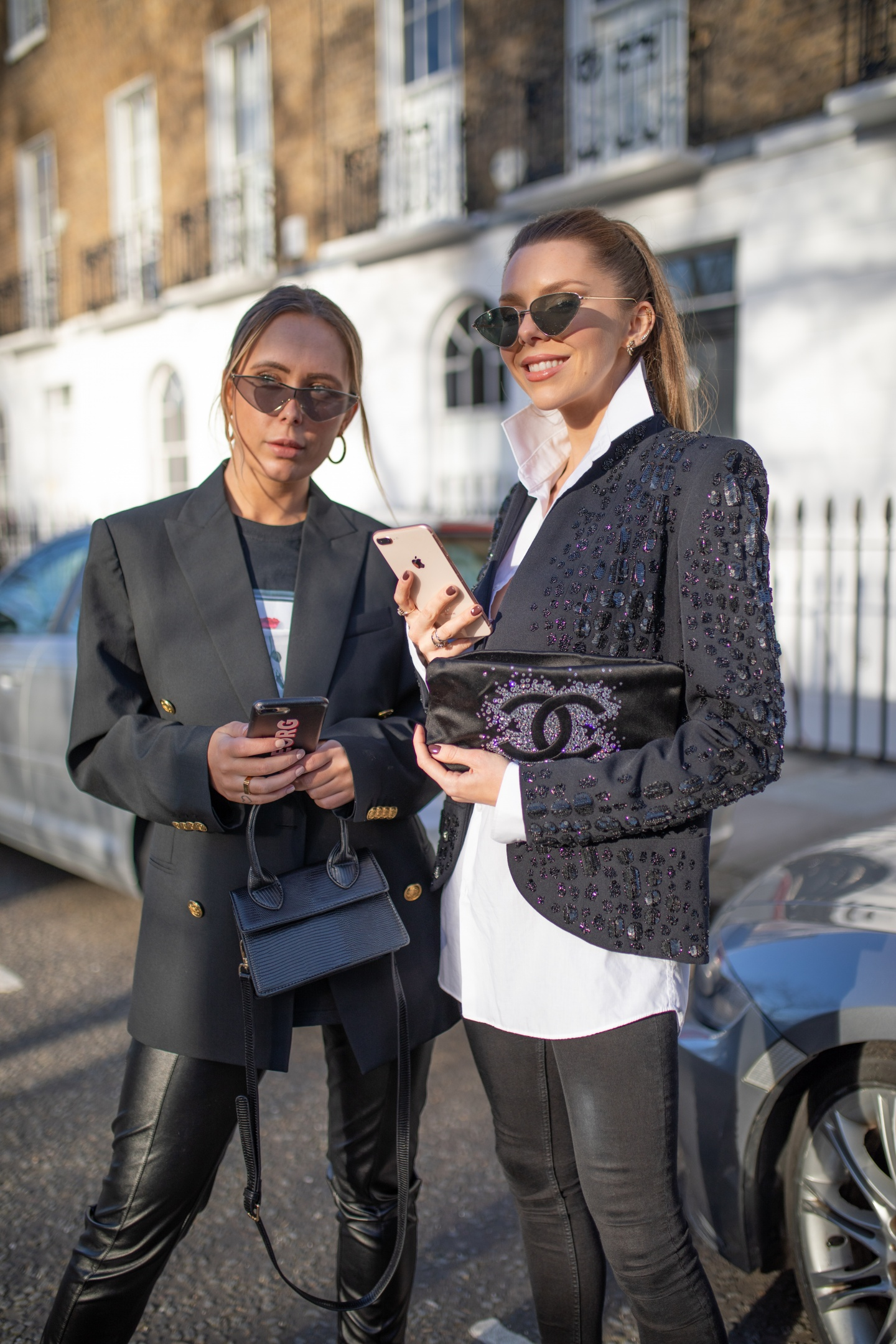 london fashion week, lfw, london fashion week street style, fashion, ss19, celine, emilio pucci, chanel