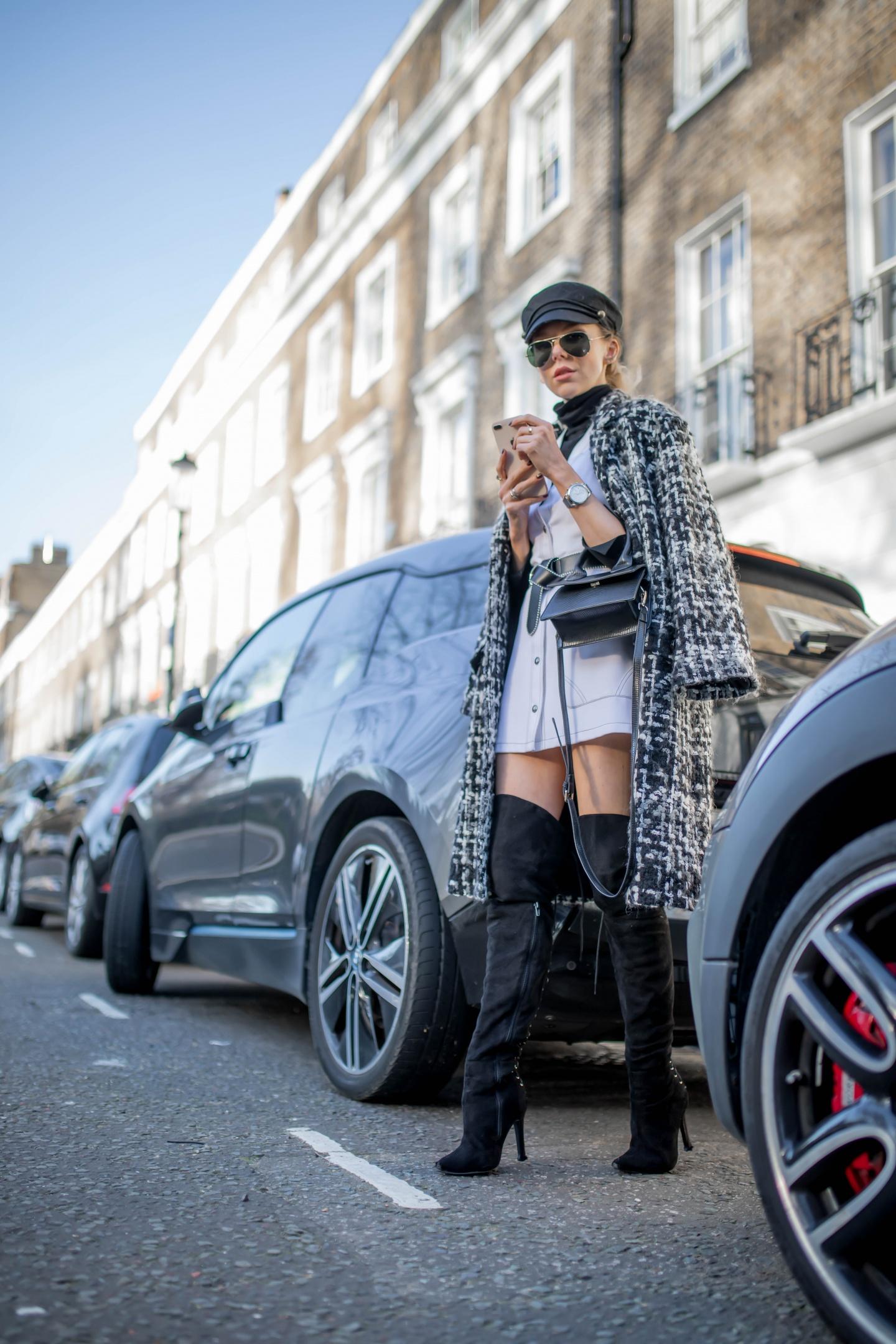 london fashion week, lfw, london fashion week street style, fashion, ss19, dolce & gabbana, louis vuitton, loewe, designer exchange