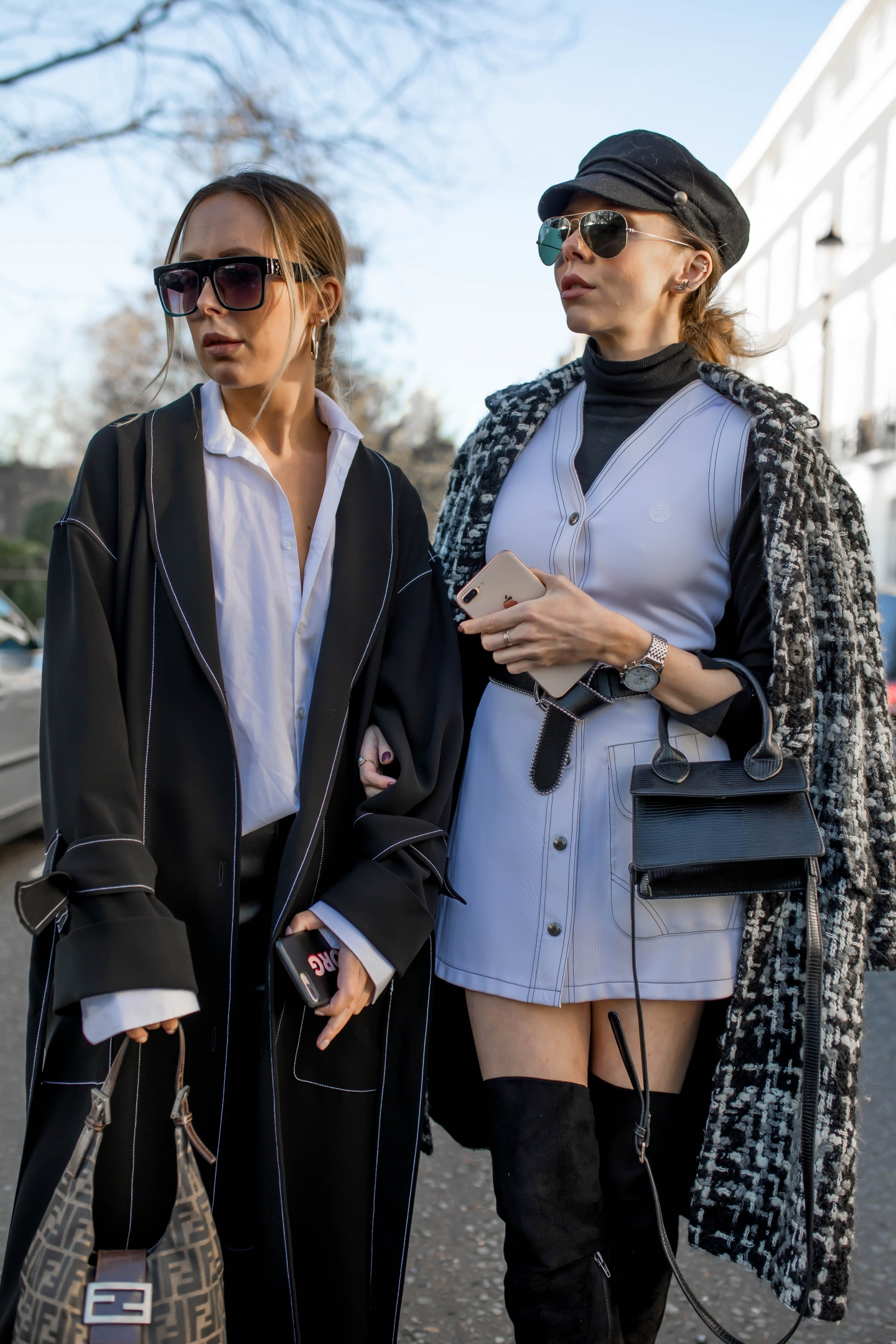 london fashion week, lfw, london fashion week street style, fashion, ss19, dolce & gabbana, louis vuitton, loewe, designer exchange