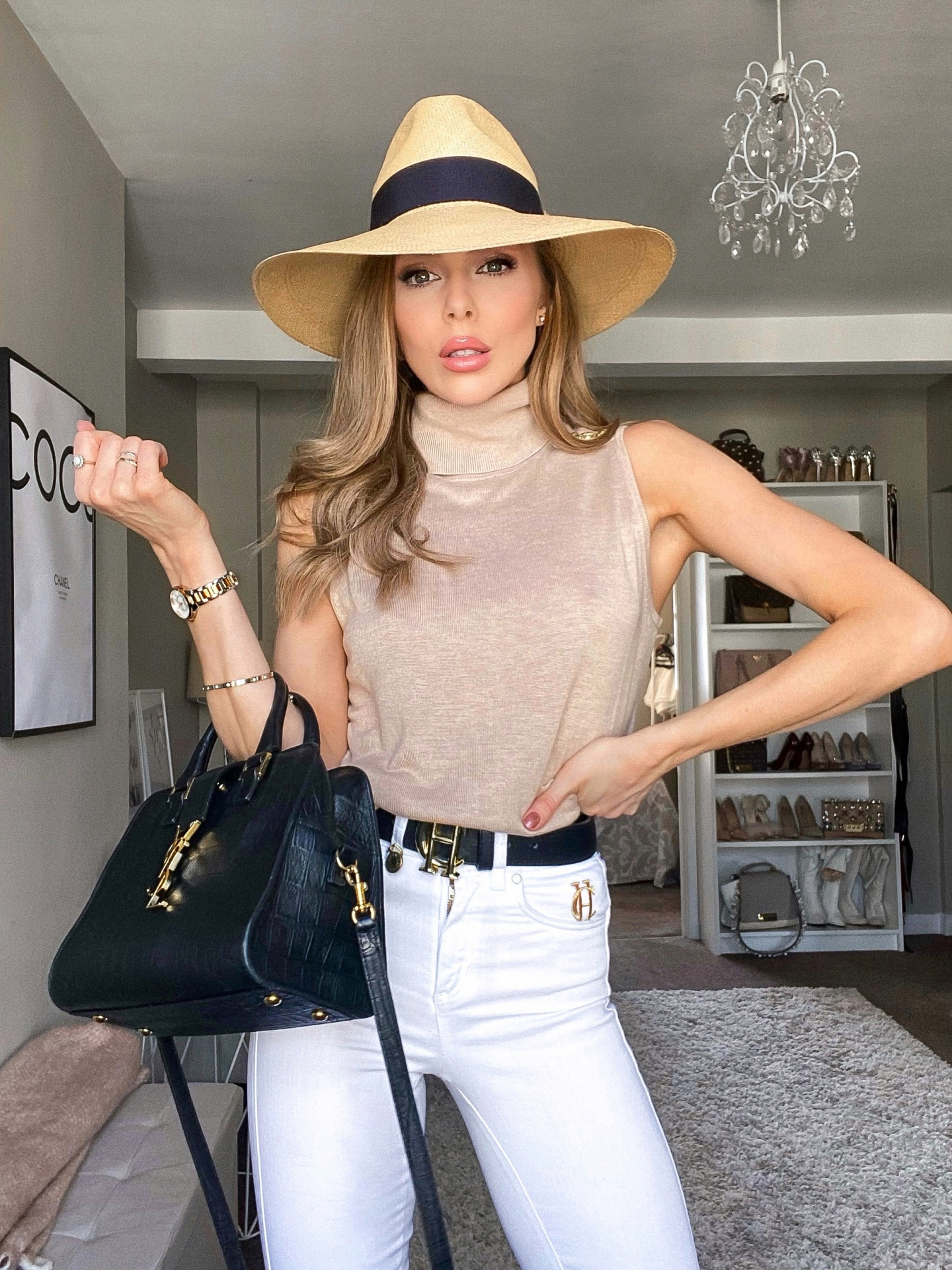 laura blair, fashion blogger uk, a week in outfits, shop instagram, holland cooper