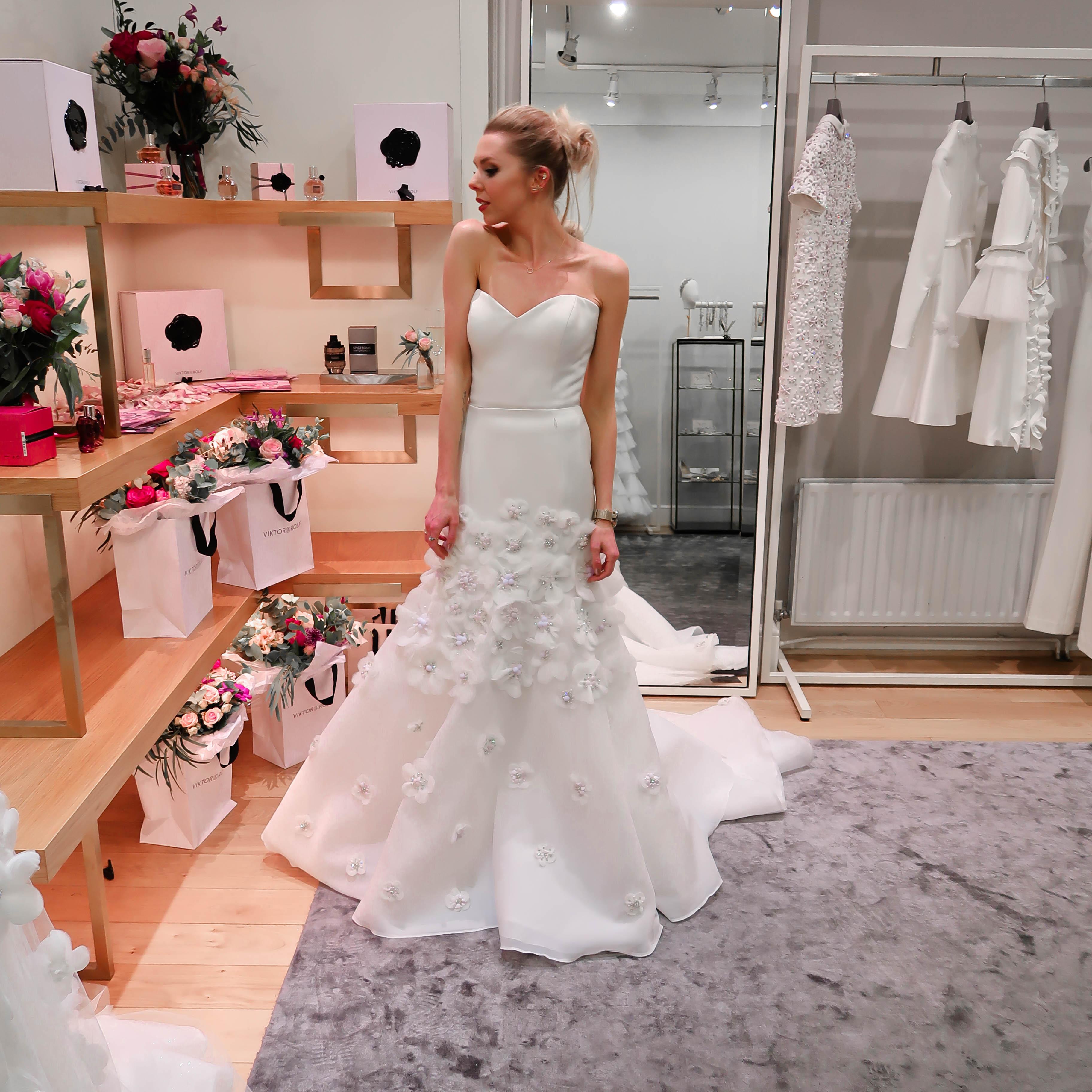 Viktor And Rolf Flower Nectar Browns Brides Wedding Dress