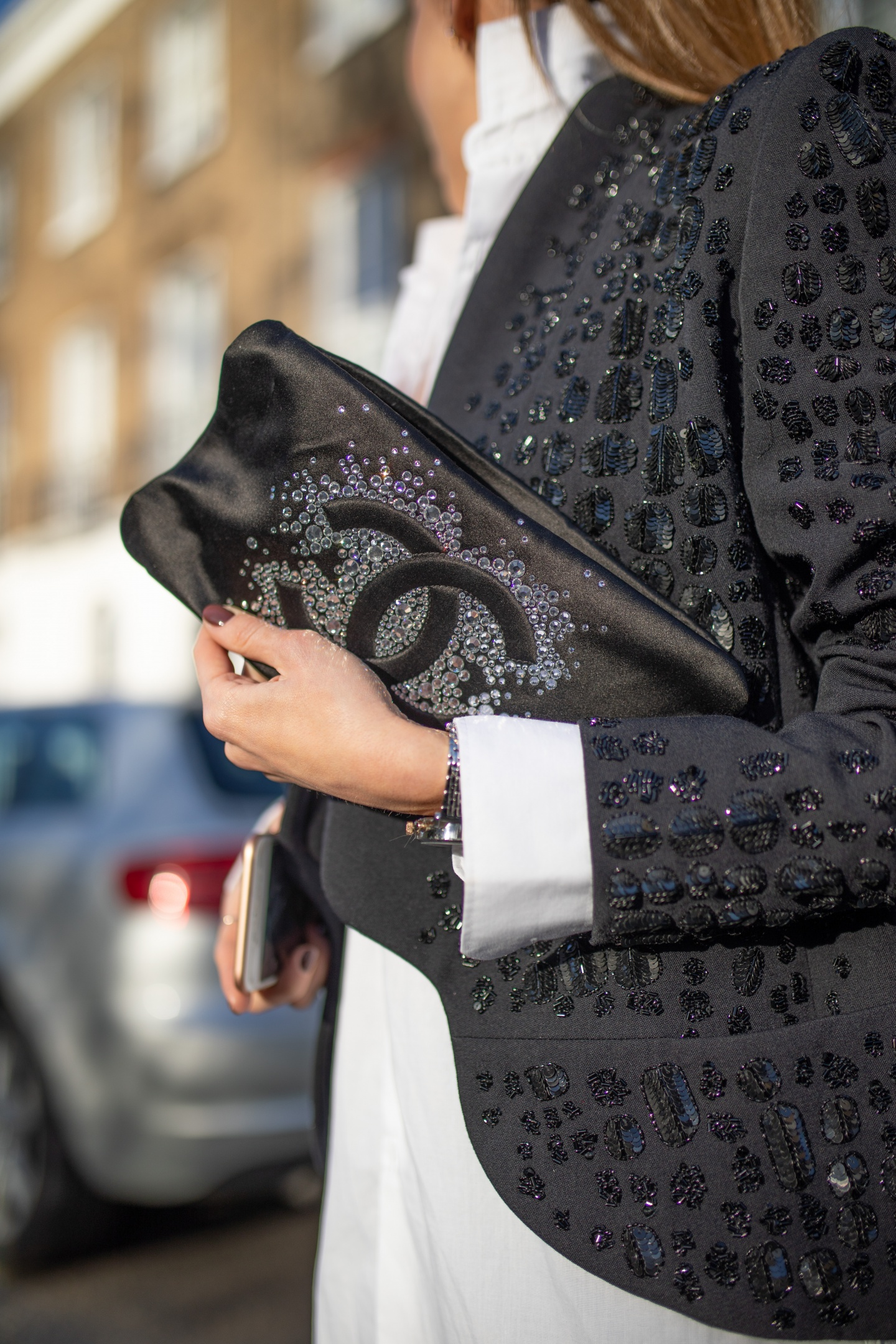 london fashion week, lfw, london fashion week street style, fashion, ss19, celine, emilio pucci, chanel